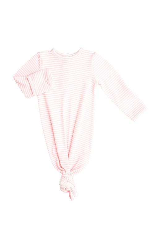 Angel Dear Puppy Play Knotted Gown Pink