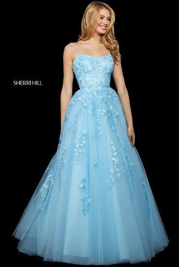 Sherri Hill 53116 Light Blue