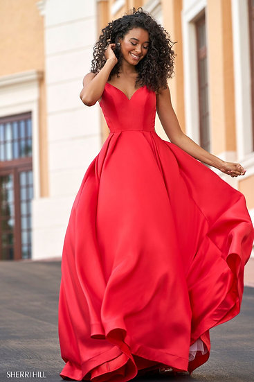 Sherri Hill 54300 Red