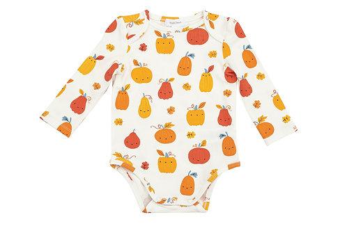 Angel Dear Pumpkin Patch Lap Shoulder Onesie