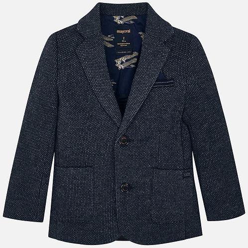 Mayoral Fantasy Tailoring Jacket Navy and Gray