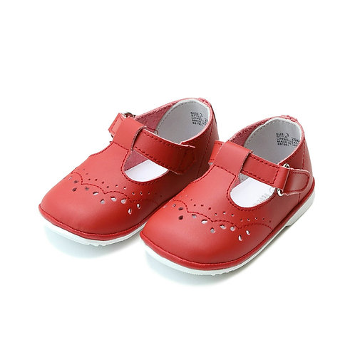 L'Amour T-Strap Mary Janes Cinnamon