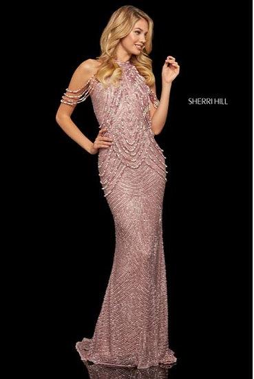 Sherri Hill 52949 Rose