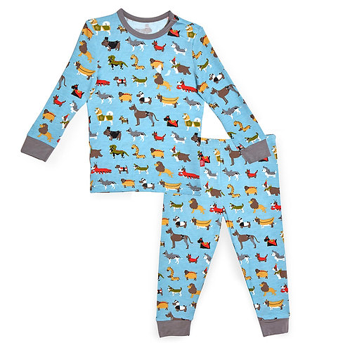 Magnetic Me In-Dog-Nito 2 Piece PJ Set