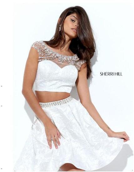 Sherri Hill 50499 Ivory