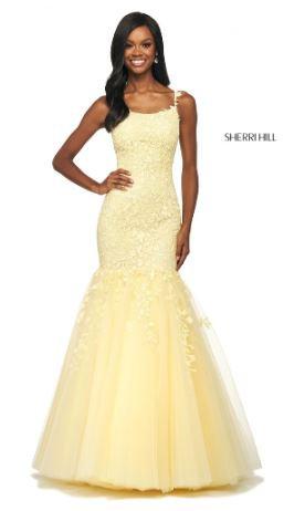 Sherri Hill 53826 Yellow