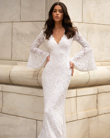 Primavera Bridal 3593 Ivory