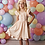 Thumbnail: Swoon Baby Stripe Flutter Tunic w/ Shortie Peachy Sorbet