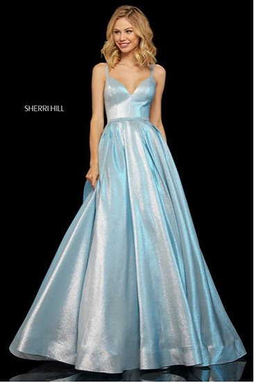 Sherri Hill 52956 Sky Blue