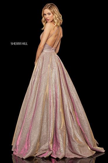 Sherri Hill 52364 Rosegold