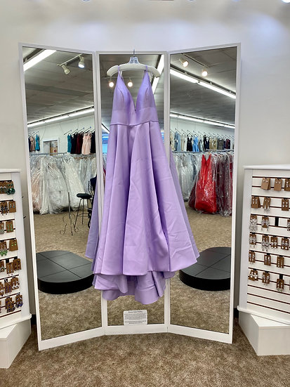 Sherri Hill 54243 Purple