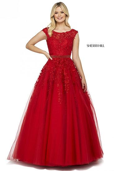 Sherri Hill 53356 Red