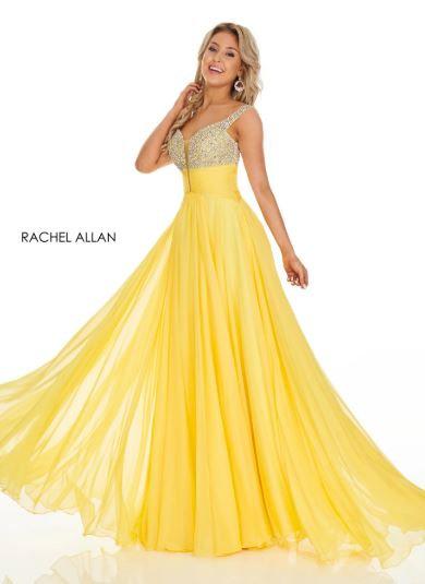 Rachel Allan 7018 Yellow