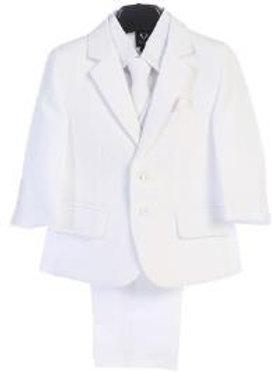 Lito 5pc White Suit 3585