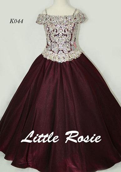 Little Rosie K044 Burgundy