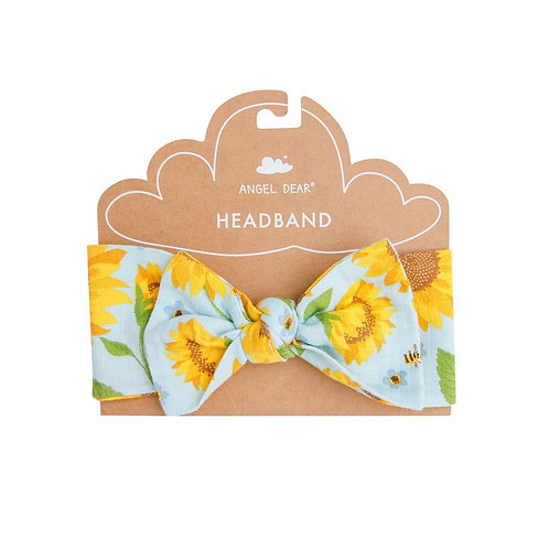 Angel Dear Sunflowers Headband Whispering Blue