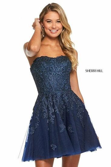 Sherri Hill 53093 Navy