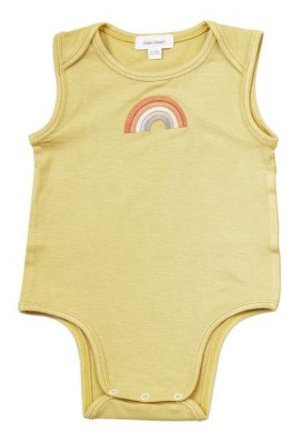Angel Dear Solid Rainbow Bodysuit
