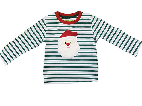 Be Mine Holiday Santa Boy's Shirt