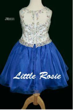 Little Rosie JR031 White/Royal