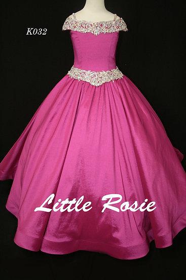 Little Rosie K032 Fuchsia