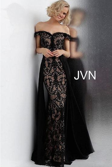 Jovani JVN62489A Black/Nude