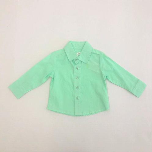 Evie's Closet Button Up Mint