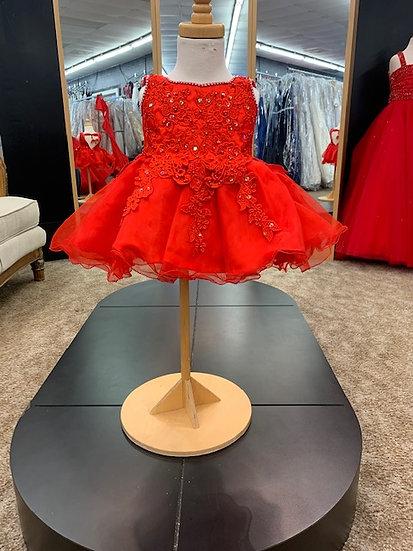 Unique Fashion 258 Red
