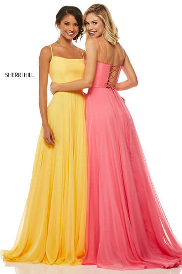 Sherri Hill 52839 Yellow