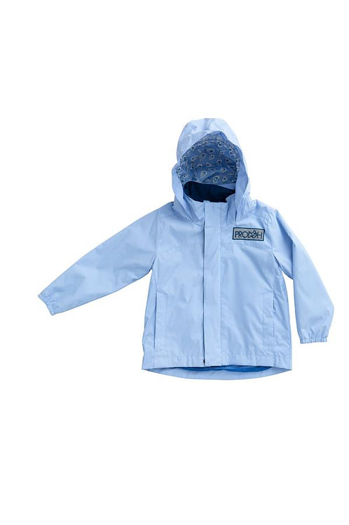 Prodoh Water and Wind Reflective Jacket Oyster Lining Baby Blue Jay