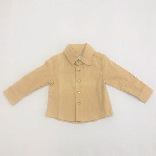 Evie's Closet Button Up Gold