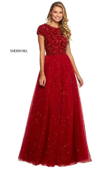 Sherri Hill 53227 Red