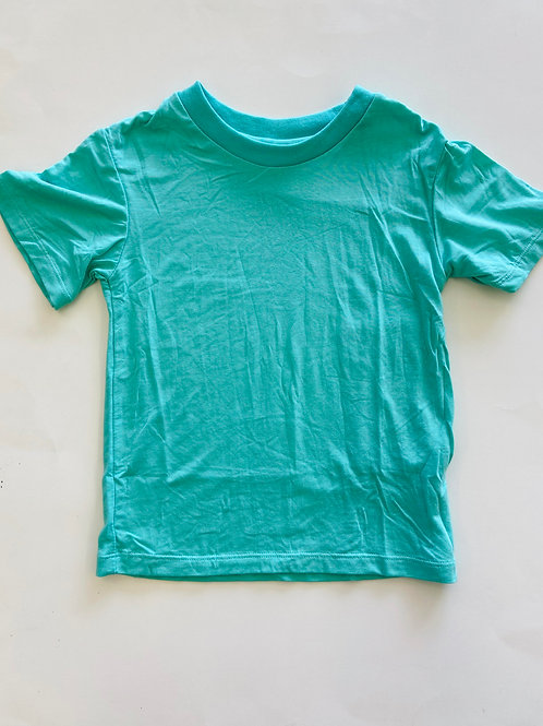 Kickee Pants Solid Short Sleeve Easy Fit Crew Neck Tee Glass
