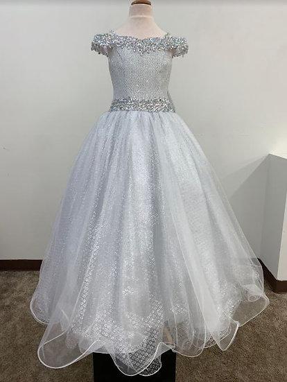 Ritzee 7689 White/Silver