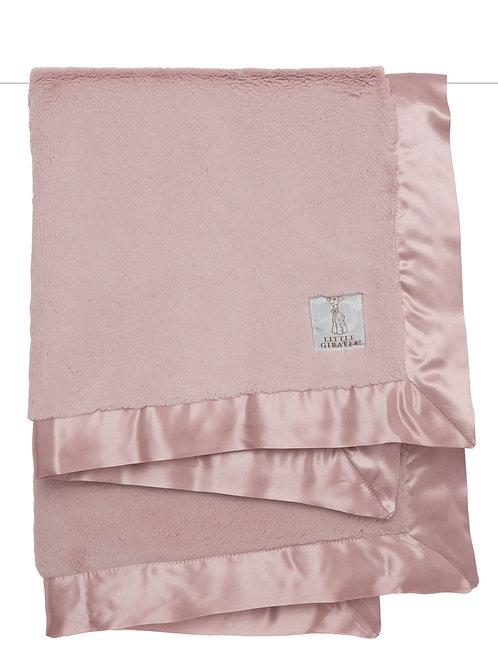 Little Giraffe Luxe Blanket Dusty Pink