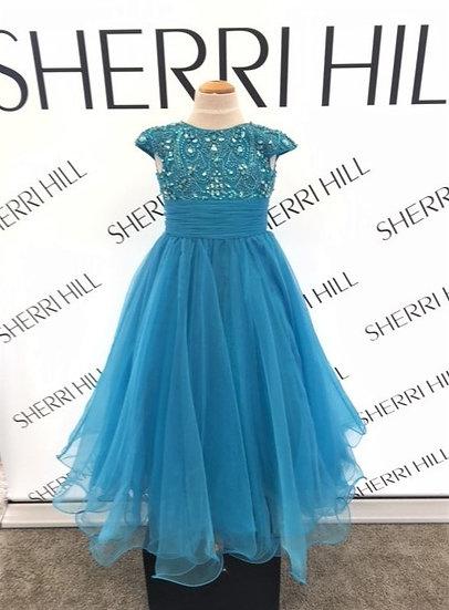 Sherri Hill K51261 Turquoise