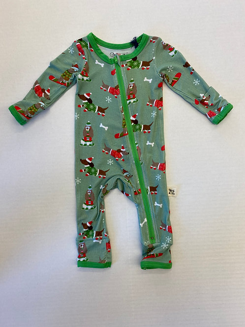 Kozi & Co Holiday Coveralls Snow Pups