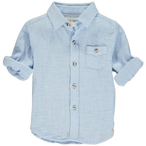 Me & Henry Merchant Long Sleeve Shirt Pale Blue
