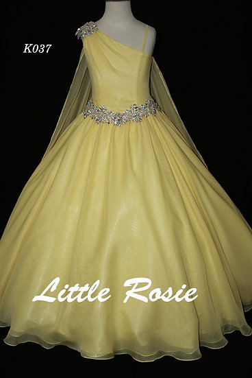 Little Rosie K037 Yellow
