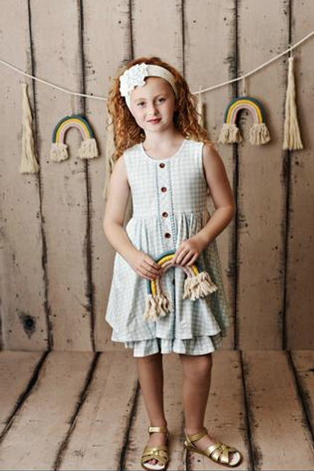 Swoon Baby Rainbow Fleur Prim Pocket Dress