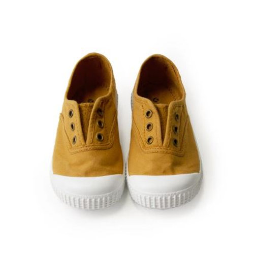 Victoria Shoes Mustard/Oro Shoes
