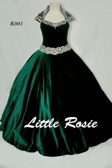 Little Rosie K001 Emerald