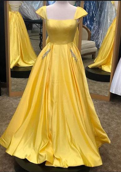 Sherri Hill 53315 Yellow