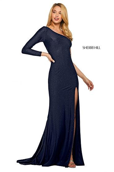 Sherri Hill 53428 Navy