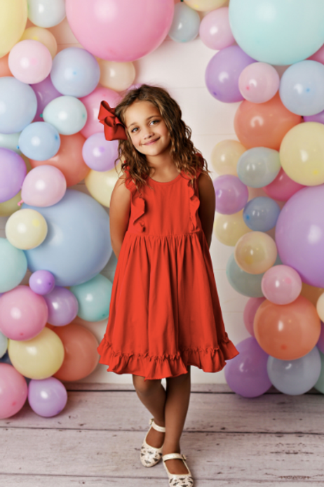 Swoon Baby Red Bella Essentials Dress