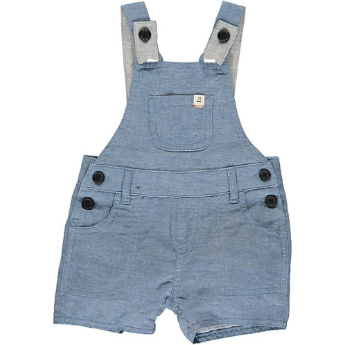 Me & Henry Bowline Shortie Overall Chambray
