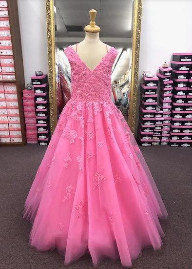Sherri Hill K53846 Candy Pink