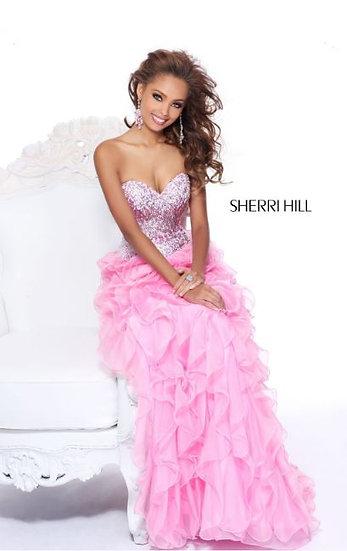 Sherri Hill 8508 Pink
