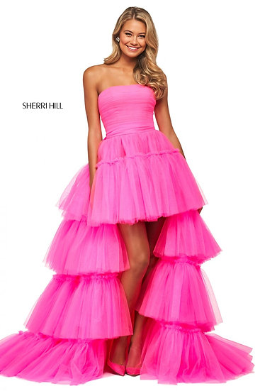 Sherri Hill 53776 Bright Pink