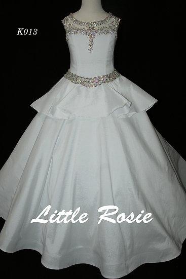 Little Rosie K013 White